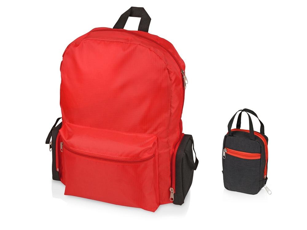 Рюкзак Fold-it складной, складной, красный