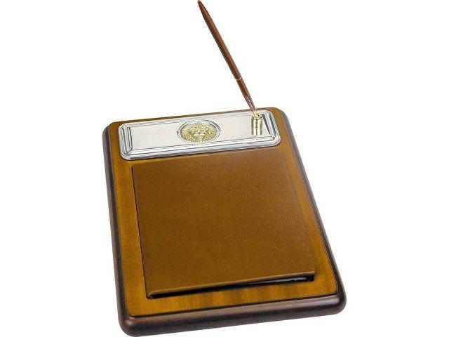 Подставка для бумажного блока с ручкой и телефонной книжкой «Гол