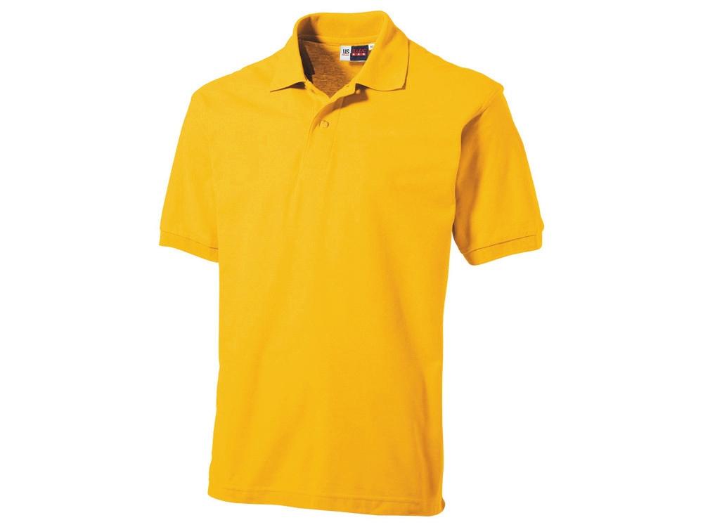 Рубашка поло Boston мужская, золотисто-желтый