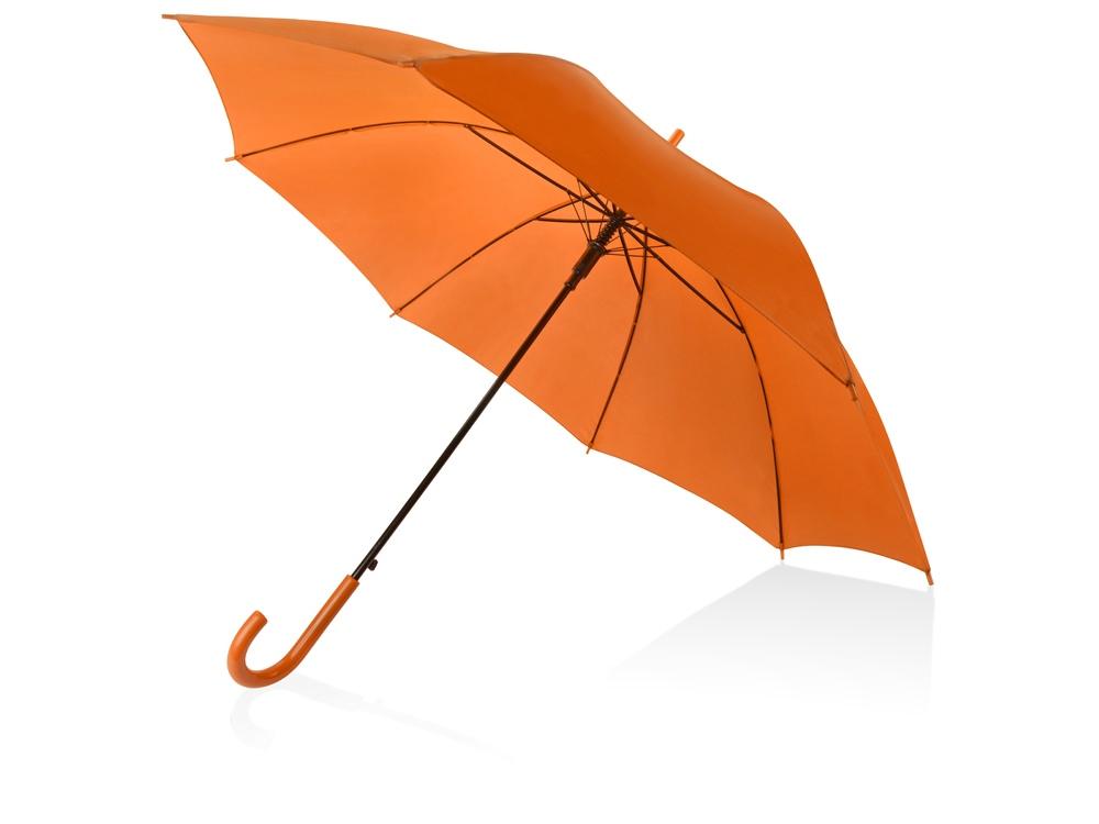 Зонт-трость Яркость, оранжевый