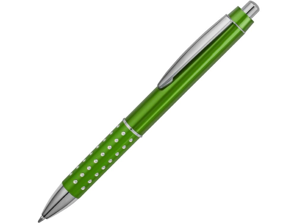 Ручка шариковая Bling, зеленый, синие чернила