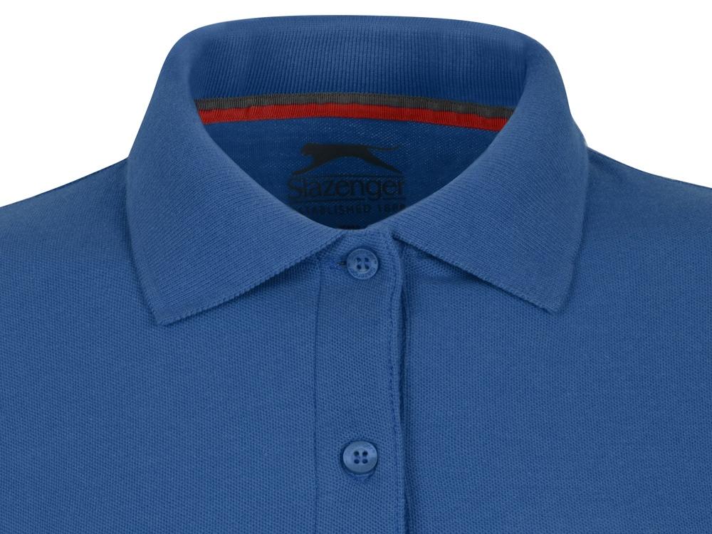 Рубашка поло Point женская с длинным рукавом, небесно-голубой