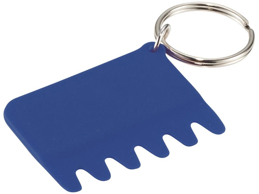 Силиконовая щетка для клавиатуры, ярко-синий