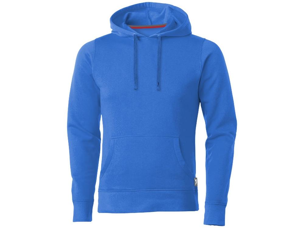 Толстовка Alley мужская с капюшоном, небесно-голубой