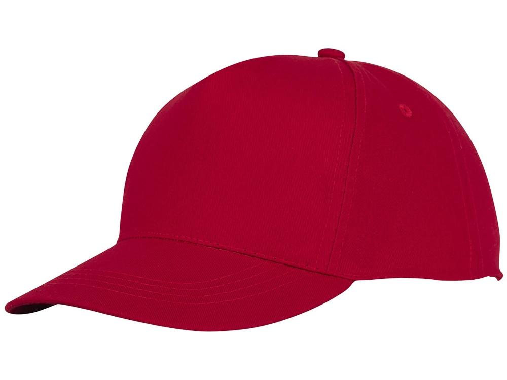 Пятипанельная кепка Hades, красный
