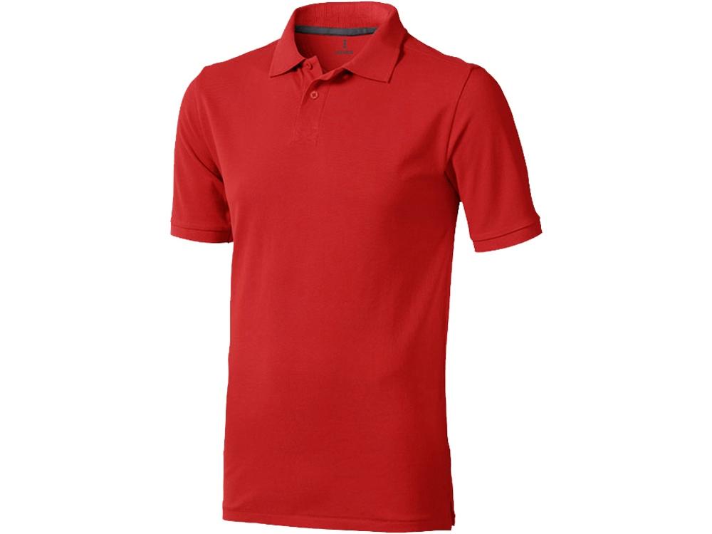 Рубашка поло Calgary мужская, красный