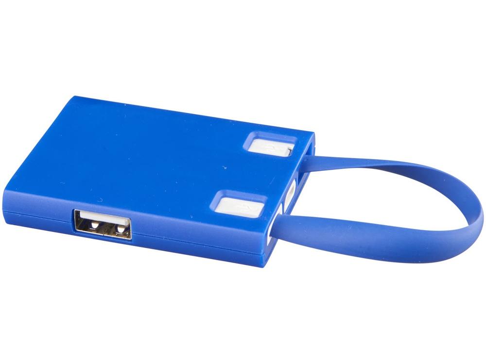 USB Hub и кабели 3-в-1, синий