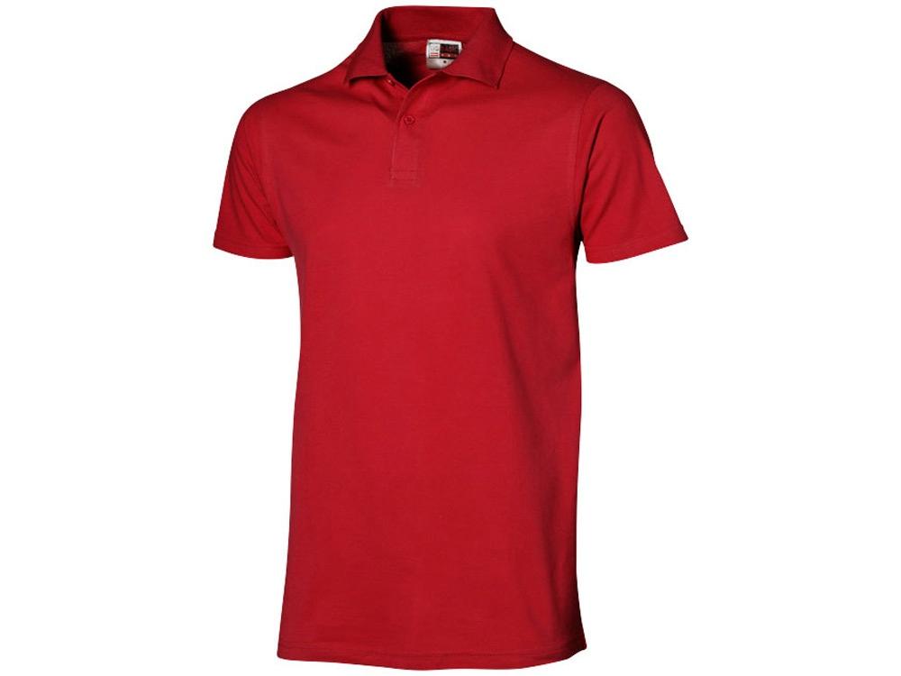 Рубашка поло First мужская, красный