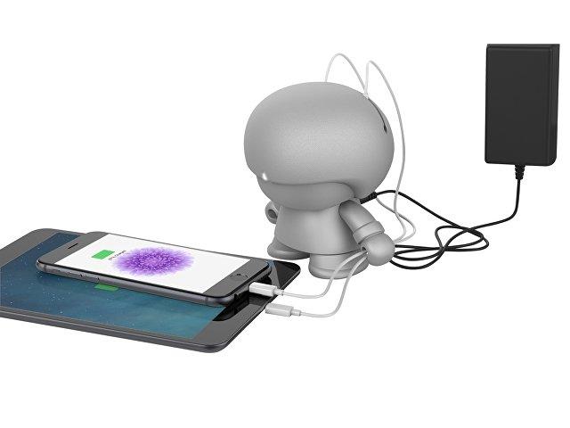 USB Hub XOOPAR BOY, серебристый
