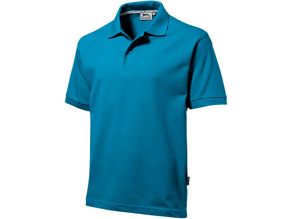 Рубашка поло Forehand мужская, аква