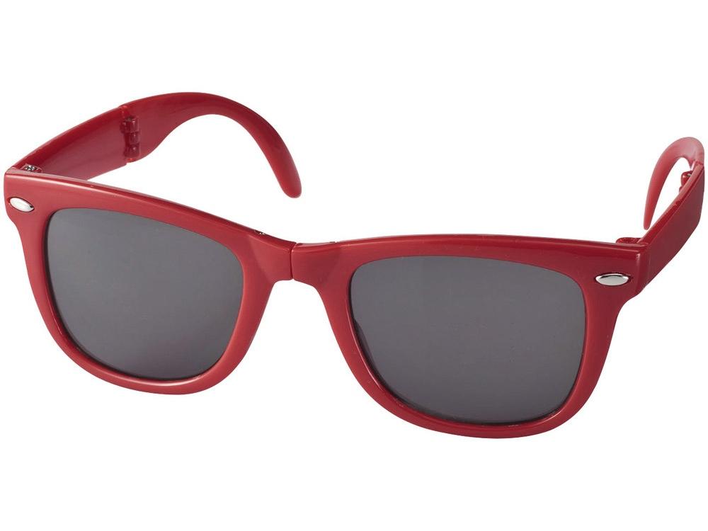 Очки солнцезащитные Sun Ray складные, красный