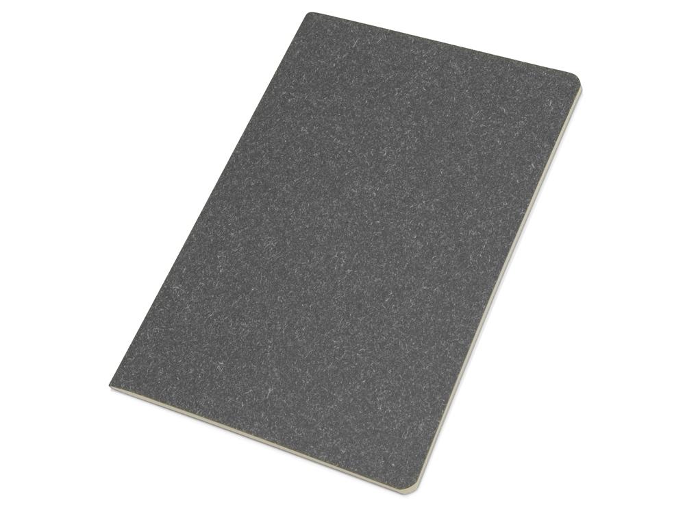 Блокнот А5 Snow из переработанного картона, серый