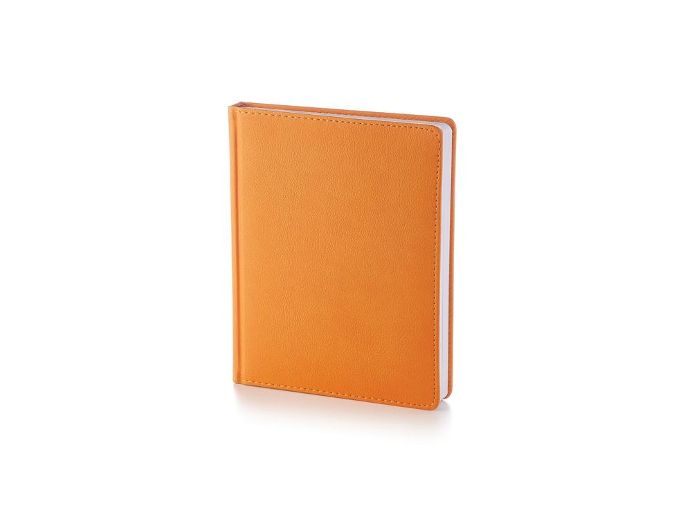 Ежедневник А6+ недатированный Leader, оранжевый