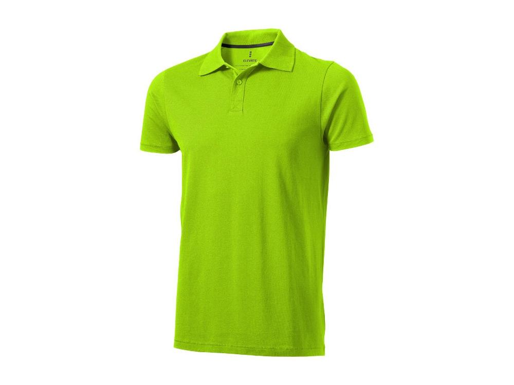 Рубашка поло Seller мужская, зеленое яблоко