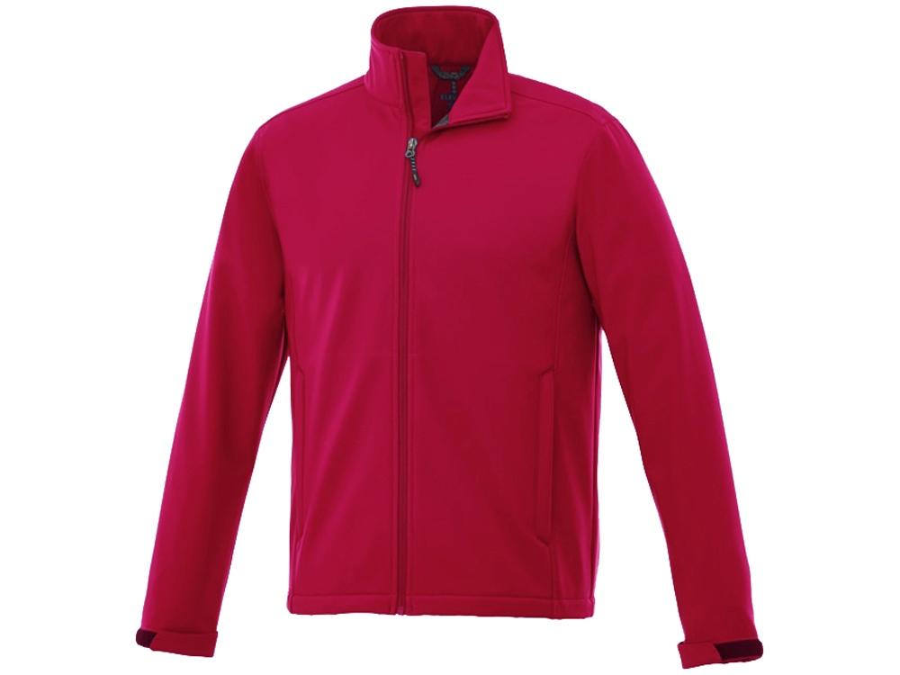 Куртка софтшел Maxson мужская, красный
