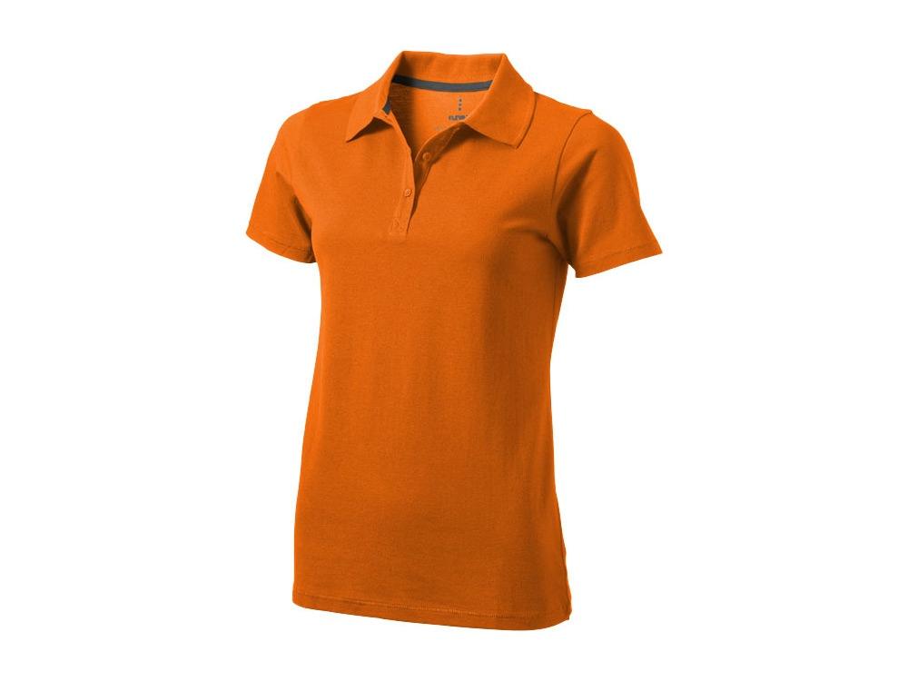 Рубашка поло Seller женская, оранжевый