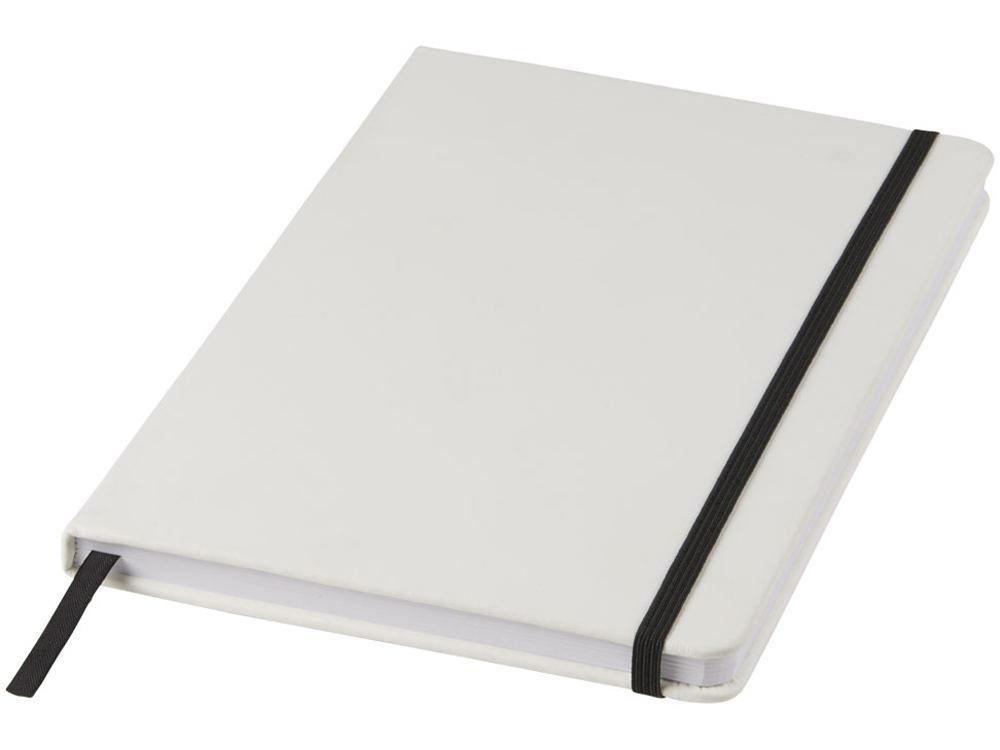 Блокнот А5 Spectrum, белый/черный