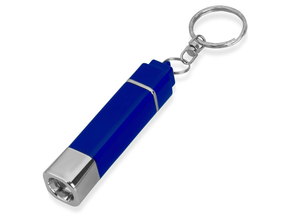 Брелок-фонарик, синий