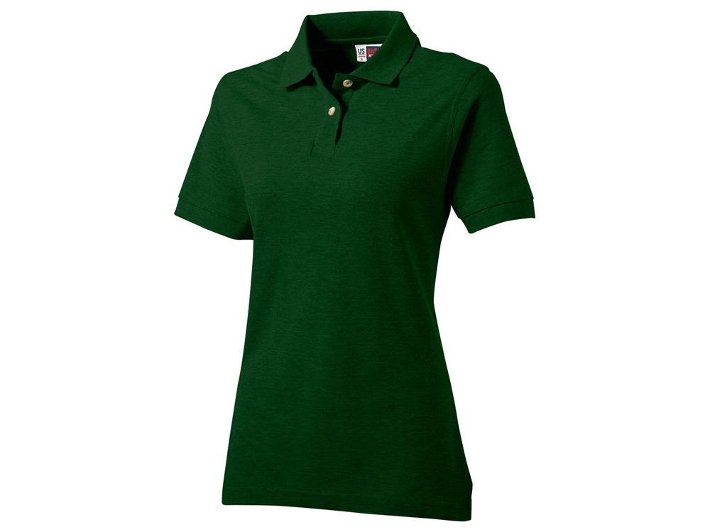 Рубашка поло Boston женская, бутылочный зеленый