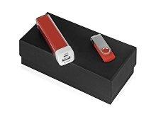 Подарочный набор Flashbank с флешкой и зарядным устройством (арт. 700305.01)