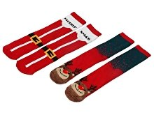 Набор носков с рождественской символикой, 2 пары (арт. 869111)