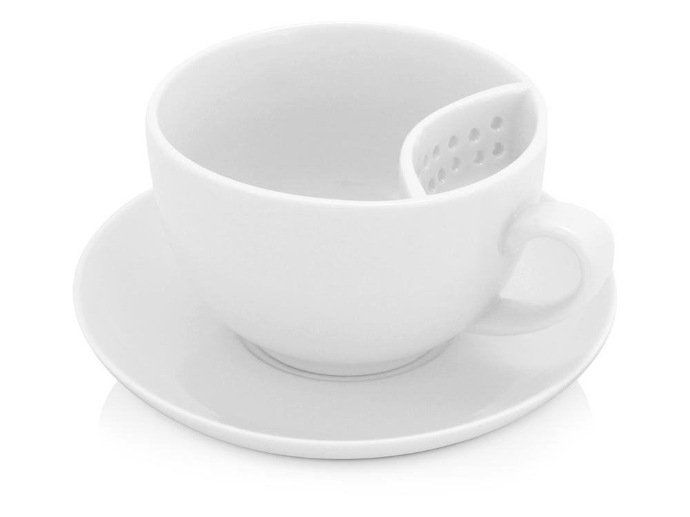 Чайная пара Сиеста, белый