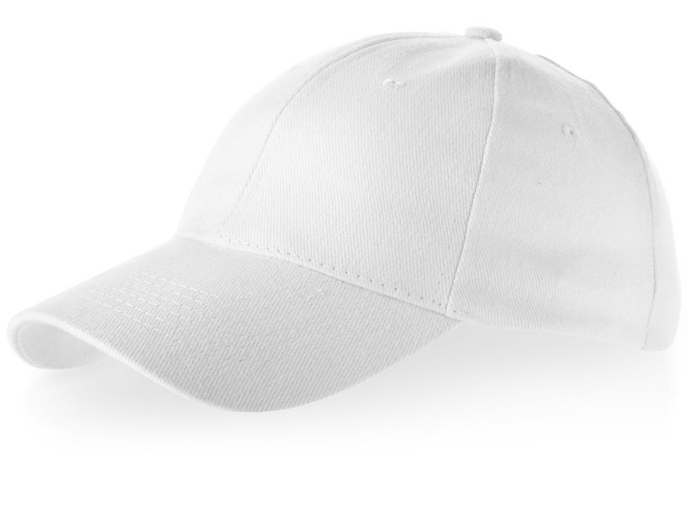 Бейсболка Bryson, 6 панелей, белый