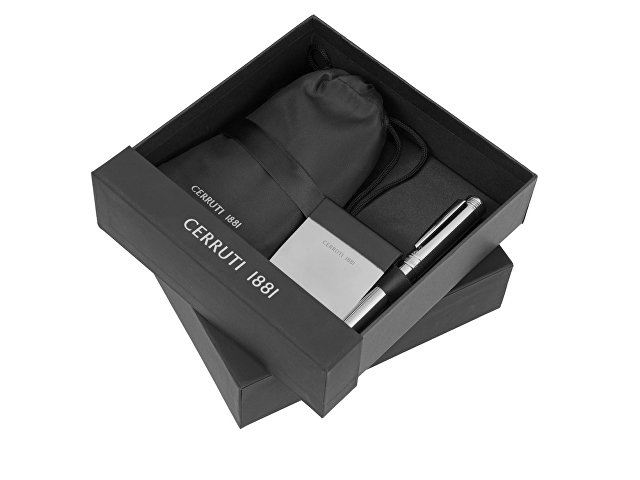 Подарочный набор: дорожный набор, зажим для денег, ручка шариков