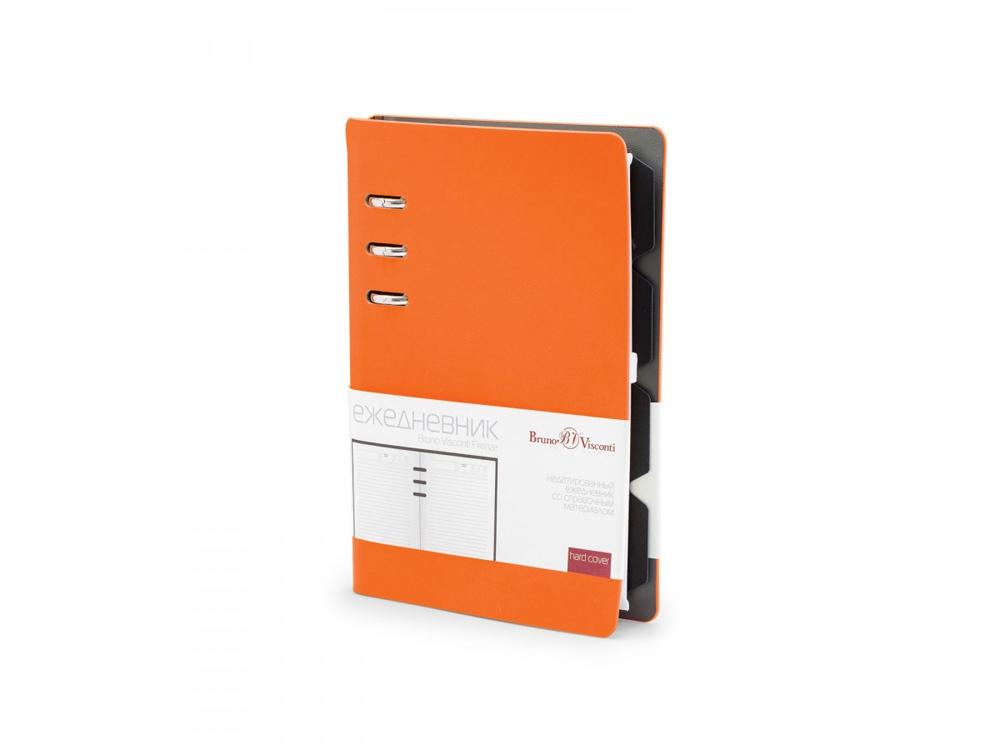 Ежедневник недатированный А5 Firenze, оранжевый