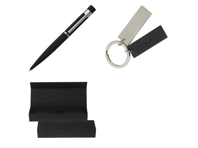 Подарочный набор: ручка шариковая, брелок