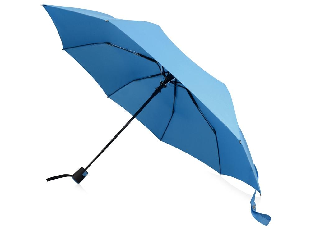 Зонт Wali полуавтомат 21, голубой