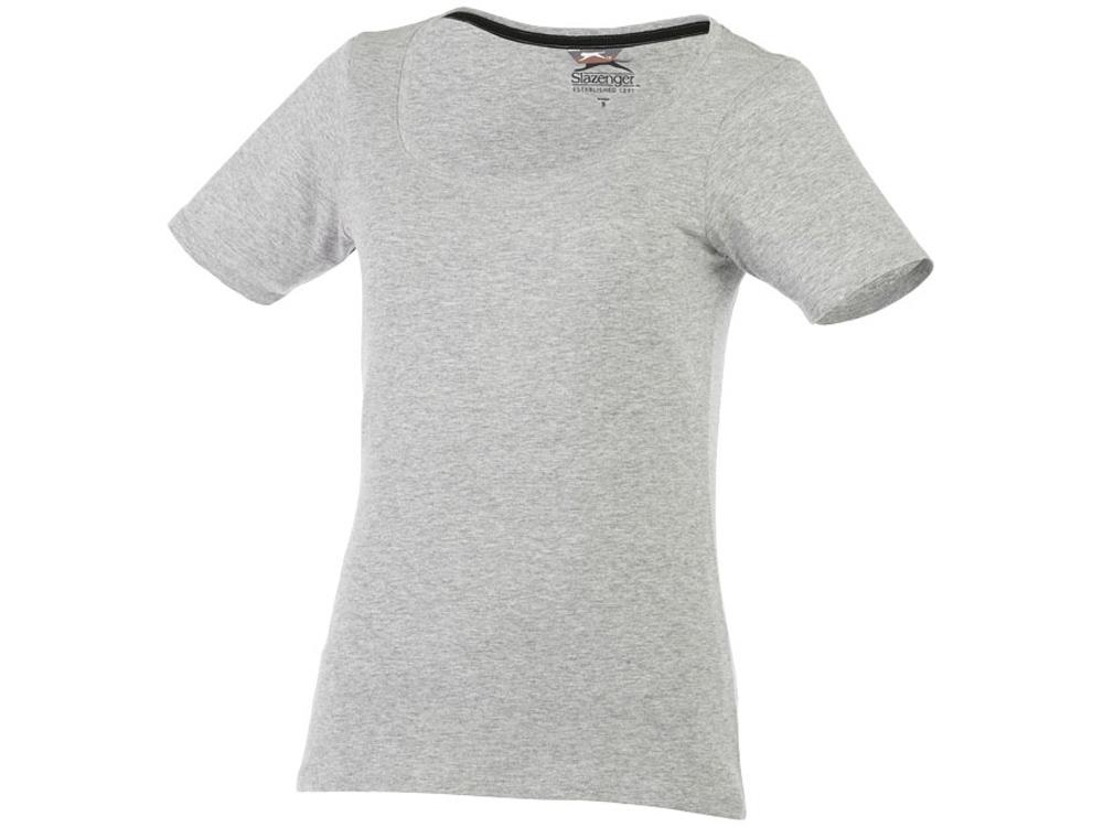 Женская футболка с короткими рукавами Bosey, серый