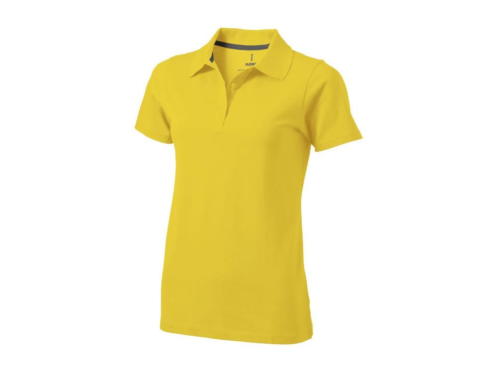 Рубашка поло Seller женская, желтый