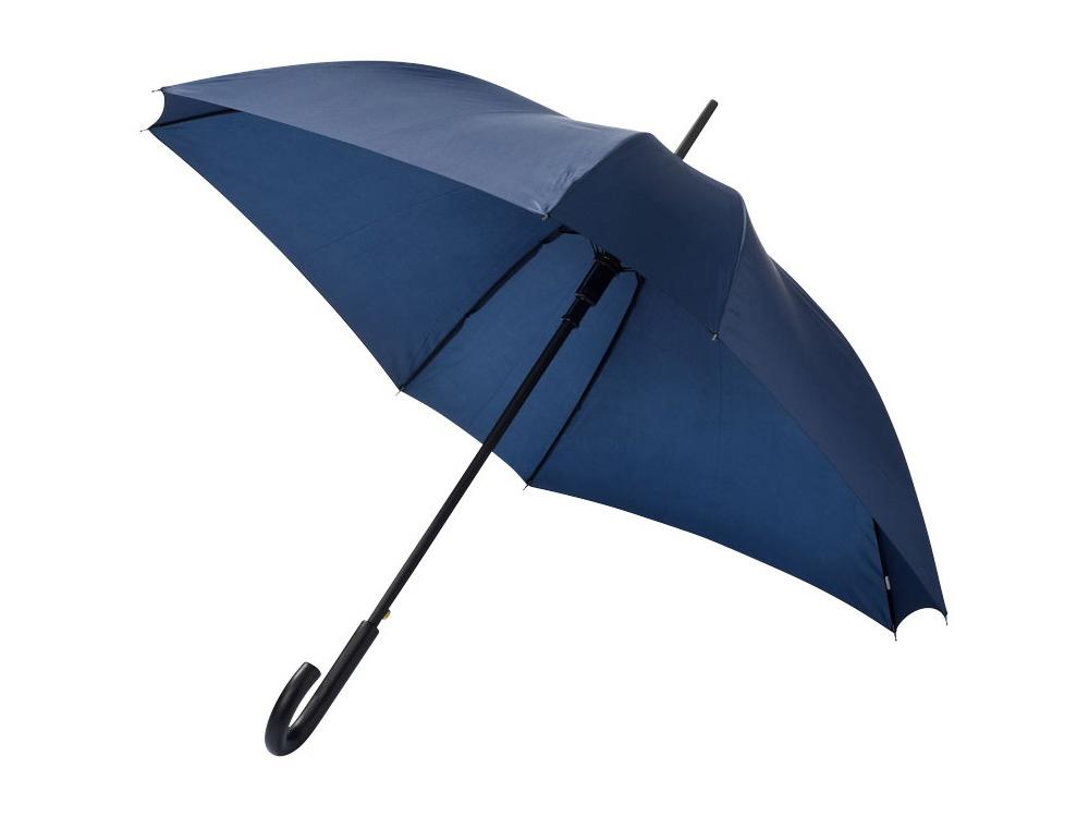 Зонт-трость Neki, полуавтомат 23,5, темно-синий