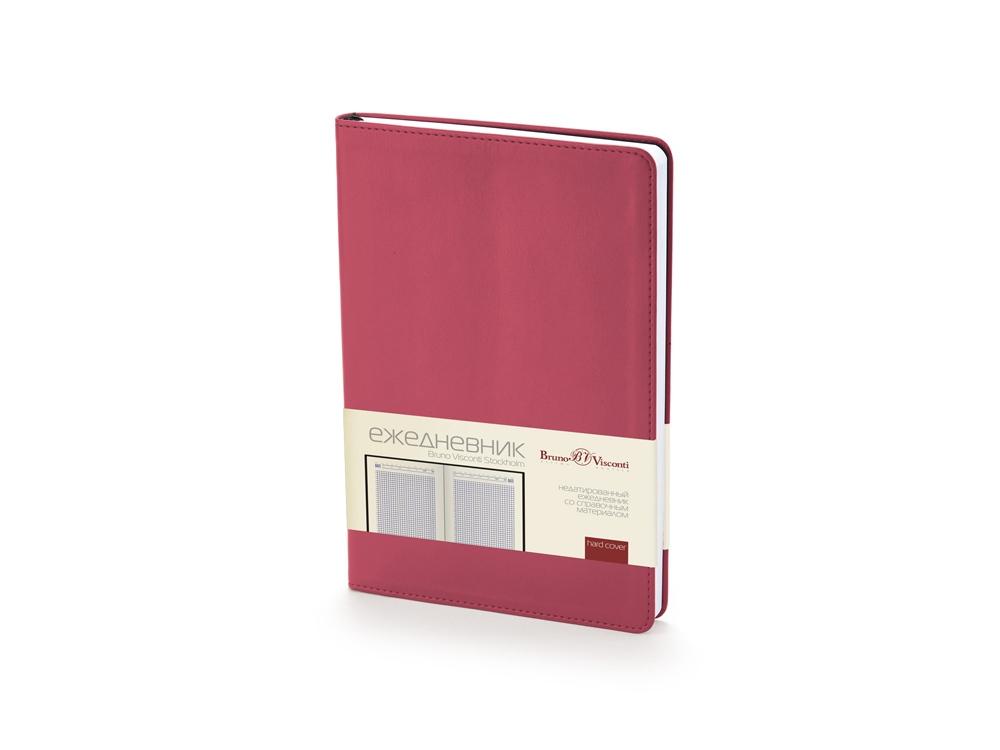 Ежедневник недатированный А5 Stockholm, бордовый