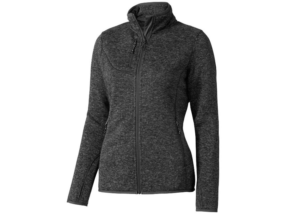 Куртка трикотажная Tremblant женская, темно-серый