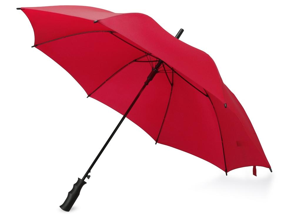 Зонт-трость Concord, полуавтомат, красный