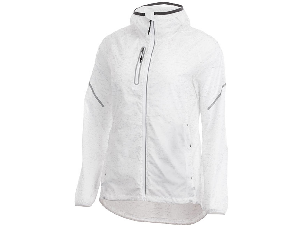 Куртка складная светоотражающая Signal женская, белый