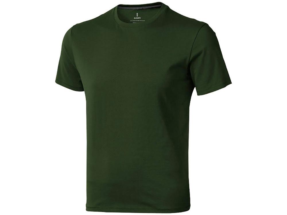 Футболка Nanaimo мужская, армейский зеленый