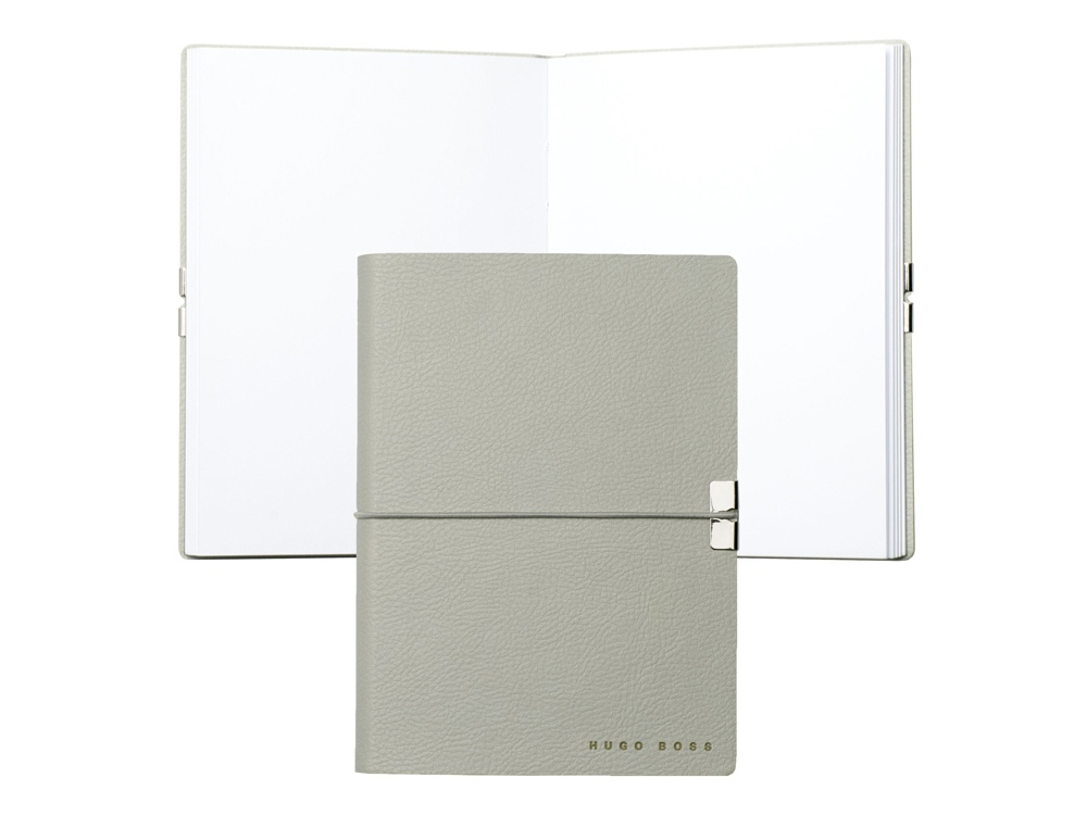 Блокнот А6 Storyline. Hugo Boss, серый