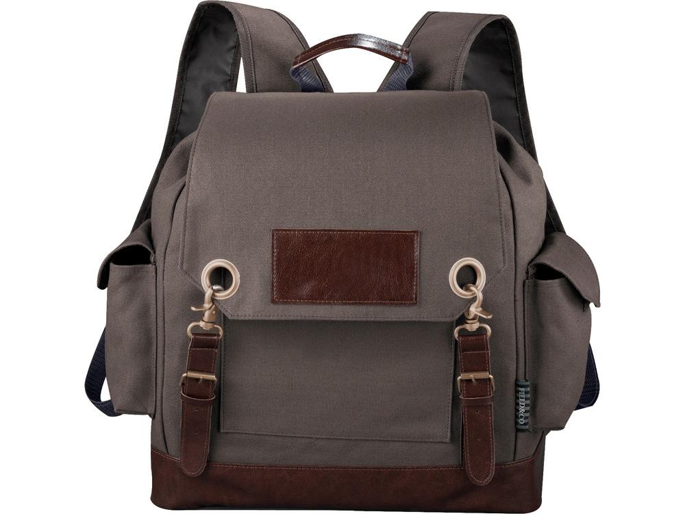 Рюкзак, коричнево-серый
