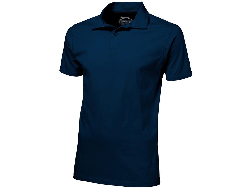 Рубашка поло Let мужская, темно-синий