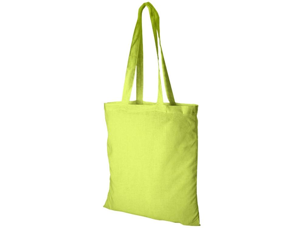 Хлопковая сумка Madras, лайм