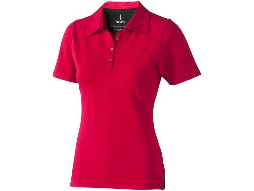 Рубашка поло Markham женская, красный/антрацит