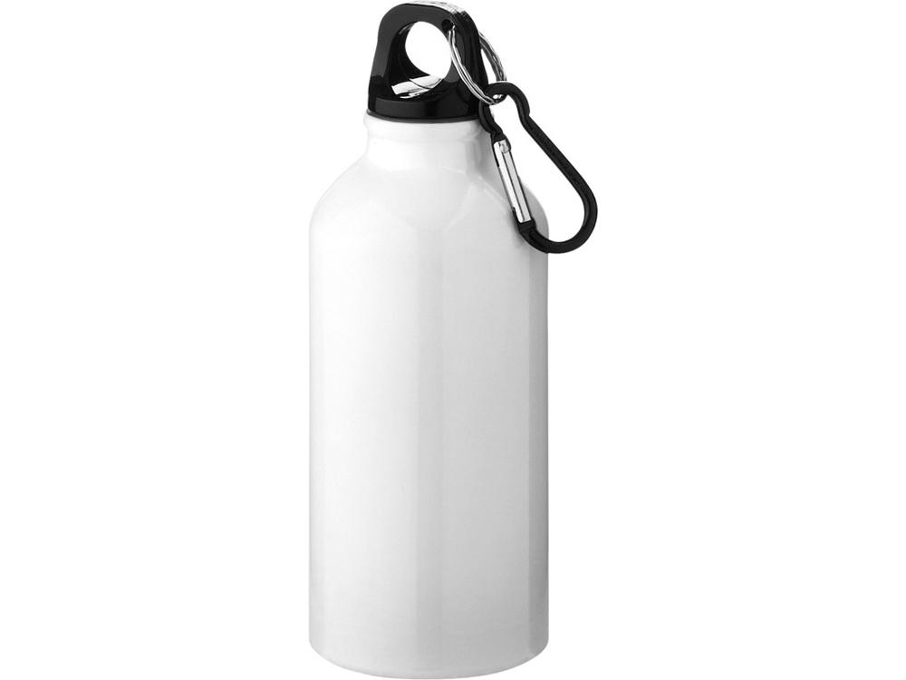 Бутылка Oregon с карабином 400мл, белый