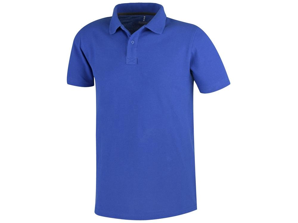 Рубашка поло Primus мужская, синий
