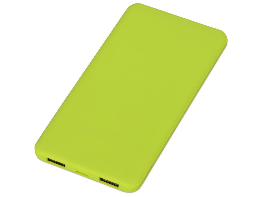 Портативное зарядное устройство Reserve с USB Type-C, 5000 mAh, зеленое яблоко