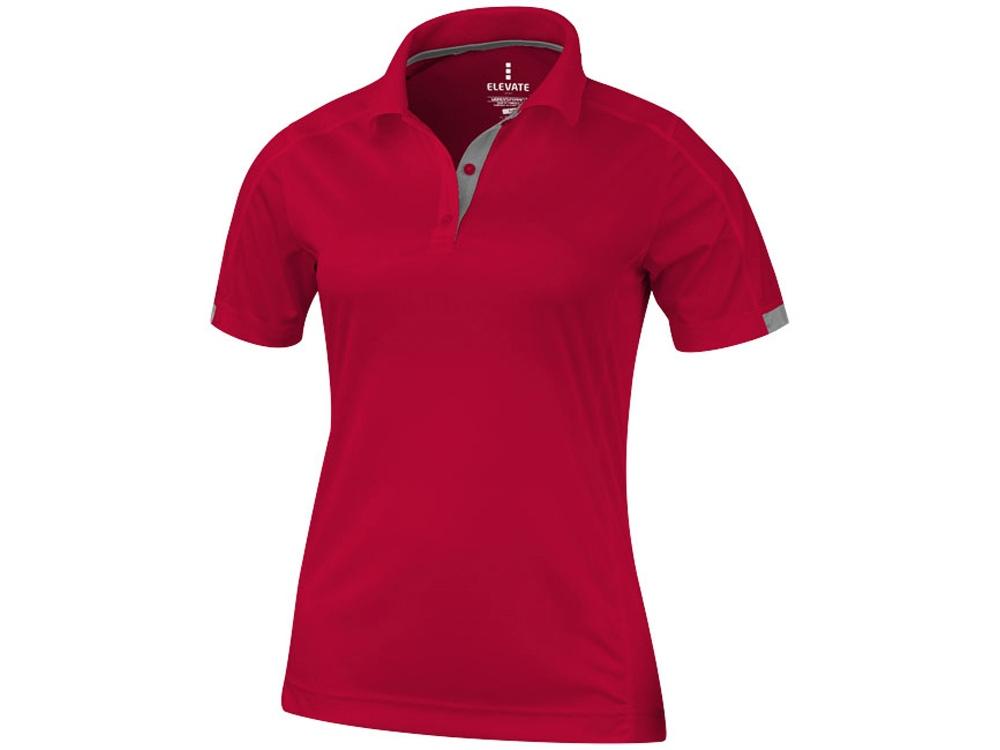 Рубашка поло Kiso женская, красный