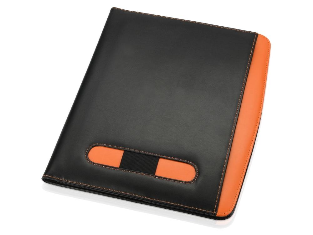 Папка для документов Guidon, черный/оранжевый