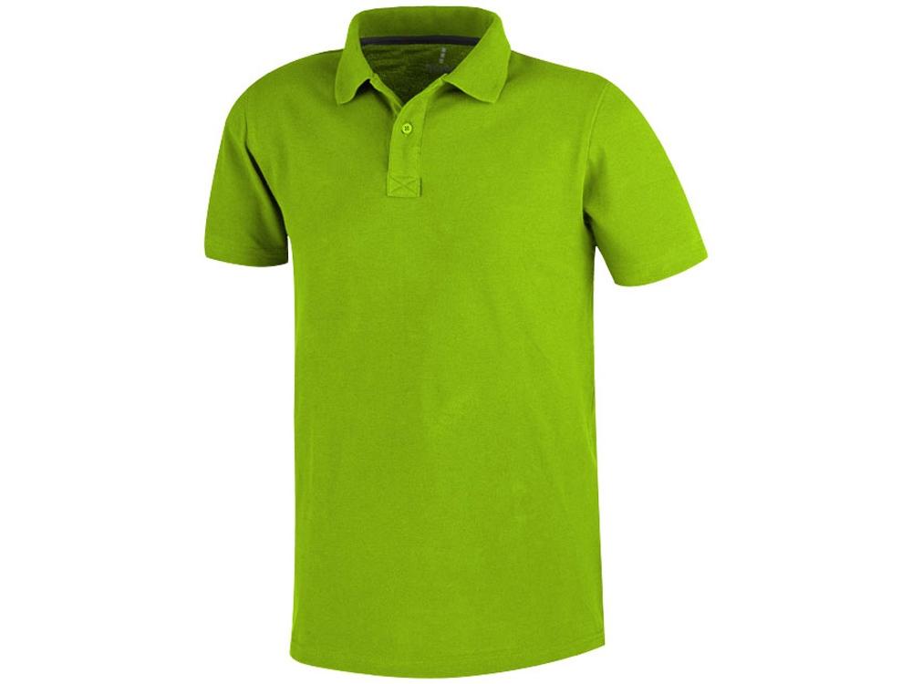 Рубашка поло Primus мужская, зеленое яблоко